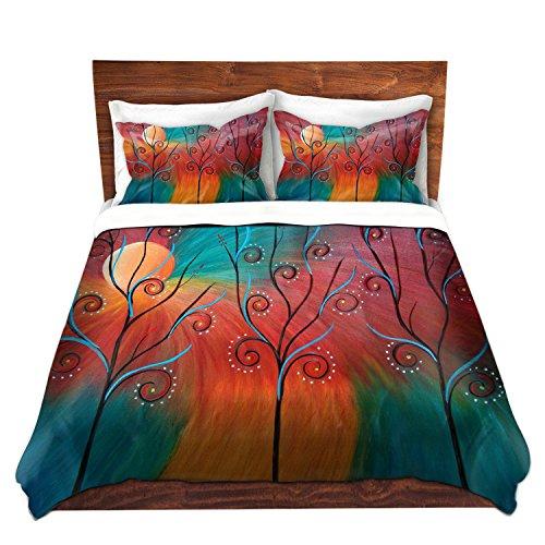 Peacock Print Bedding Set front-138447