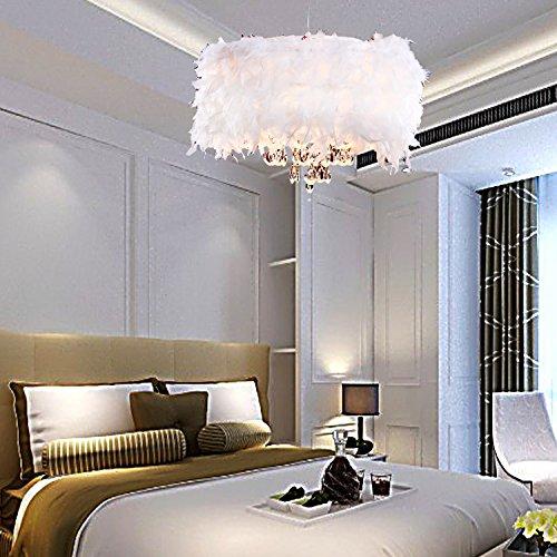 oofay light zeitgen ssische ppigen white feather. Black Bedroom Furniture Sets. Home Design Ideas