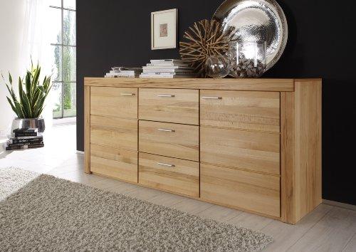 Firstloft-San-Marino-Sideboard-Kernbuche-teilmassiv-Holz-45-x-174-x-80-cm