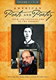 American Poets and Poetry [2 volumes]: From the Colonial Era to the Present