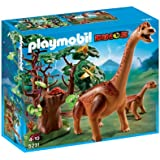 Playmobil 5231 - Branchiosauro con cucciolo