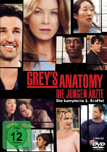 Grey's Anatomy - Die jungen Ärzte - Die komplette 1. Staffel (2 DVDs) [Import anglais]