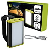 LE Camping Laterne USB Wiederaufladbare LED Notfallleuchte 330lm 4400mAh Powerbank