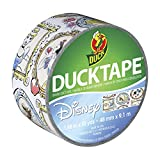 Duck Brand 283004 Disney-Licensed Princess Printed Duct Tape, 1.88 Inches x 10 Yards, Single Roll