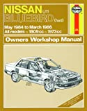 Haynes Garage Quality Car Repair Manual/Book For Nissan Bluebird (May 84 - Mar 86) A to C Including a De-Mister Pad and 1 Car Air Freshner.