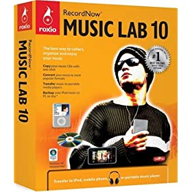 RecordNow Music Lab 10  full