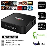 Henscoqi T95M Android TV Box Amlogic KODI Pre-installed Quad Core CPU 4K HD 5.1 Lollipop WiFi 3G 1080P Dolby Supported