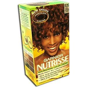 Garnier Nutrisse Permanent Creme Haircolor 635 Chocolate