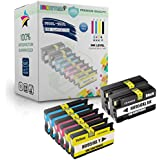 E-Z Ink (TM) Remanufactured Ink Cartridge Replacement For New Generation HP 950XL 951XL (2 Black, 2 Cyan, 2 Magenta, 2 Yellow) 8 Pack CN045AN CN046AN CN047AN CN048AN Compatible With Officejet Pro 8610, 8620, 8630, 8640, 8660, 251dw, 276dw MFP, 8100 - N811a, 8600 e-All-in-One - N911g, 8600 Plus - N911n, 8600 Premium - N911a Printer