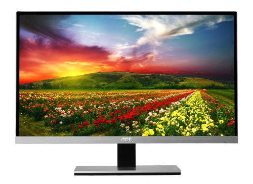 AOC i2367Fh 23-Inch IPS Frameless LED-Lit Monitor, Full HD 1080p, 5ms, 50M:1 DCR, VGA/ HDMI, Speakers, Multi Purpose Stand