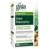 Gaia Herbs Saw Palmetto Liquid Phyto-Capsules, 60 Count