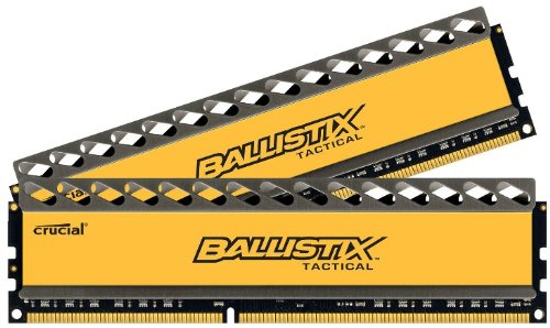 Ballistix Tactical - Kit memoria RAM de 16 GB (8 GB x 2, DDR3, 1600 MT/s, PC3-12800, UDIMM 240-Pin)