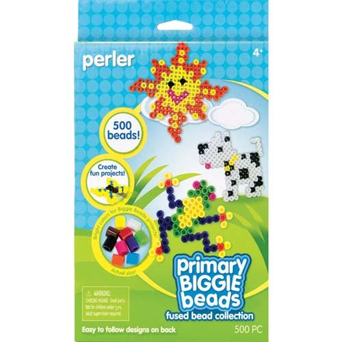 Perler Fused Beads Collection, Primary Biggie Bead