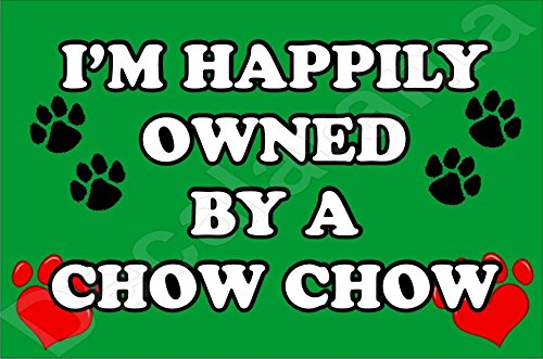 im-happily-owned-by-a-chow-chow-dog-fridge-magnet-gift-present-puppy
