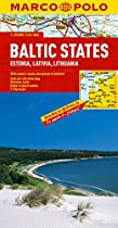 Baltic States (Estonia, Latvia & Lithuania) Marco Polo Map (Marco Polo Maps (Multilingual))