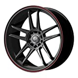 Motegi Racing MR117 Matte Black Finish Wheel (17&#215;7&#8243;/5x100mm)