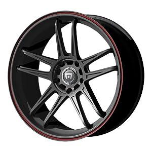 "Motegi Racing MR117 Matte Black Finish Wheel (17x7""/5x100mm)"