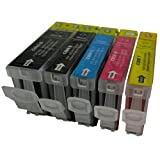5 CiberDirect Compatible Ink Cartridges for use with Canon Pixma iP4200 Printers.
