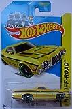 2014 Hot Wheels 72' Ford Ranchero Yellow 134/250 HW Off-Road HW Hot Trucks