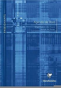 Clairefontaine - 9059C - Metric - Agenda de Bord - Enseignants - 144 Pages - 21 x 29,7cm - Coloris Aléatoire