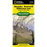 Absaroka-Beartooth Wilderness East [Cooke City, Red Lodge] (National Geographic Trails Illustrated Map)