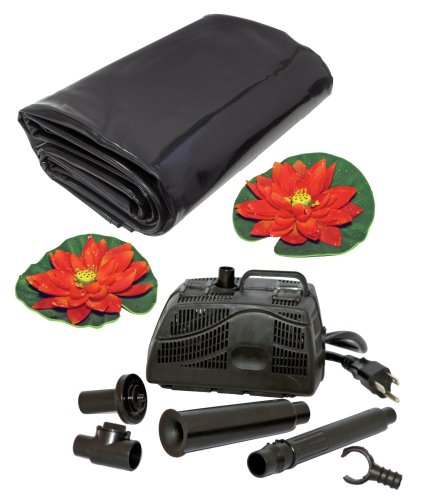 Koolatron KSPK-84-G 84-Gallon Pond Kit