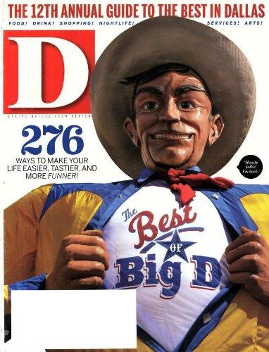 D Magazine (1-year auto-renewal)