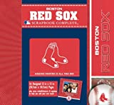 CR Gibson Tapestry Complete Scrapbook Kit, Boston Red Sox at Amazon.com