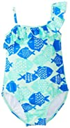 carters Girls 2-6X Fish-Print One-Piece Swimwuit