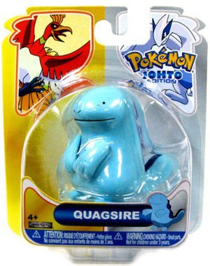 Buy Low Price Jakks Pacific Pokemon HeartGold SoulSilver Series 16 Basic Figure Quagsire (B004143JE0)