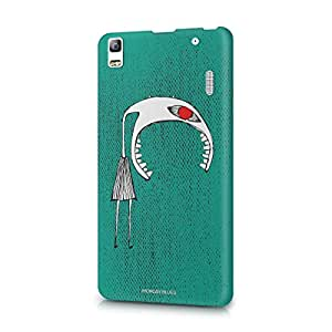 Monday Blues Lenevo A7000  Phone Case - Red Eyed Monster