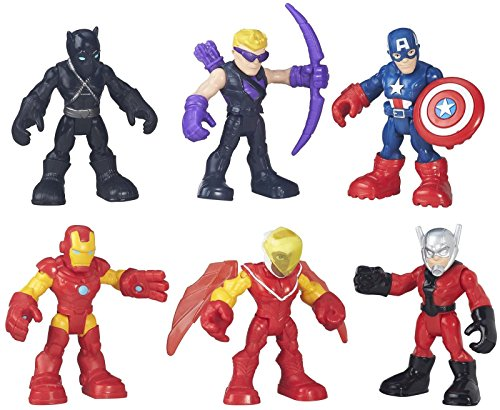 Playskool Heroes Super Hero Adventures Captain America Super Jungle Squad (Marvel Heros Toys compare prices)