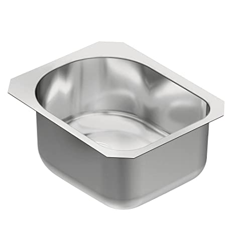 Moen G18461 1800 Series Steel 18-Gauge Single Bowl Sink, Stainless