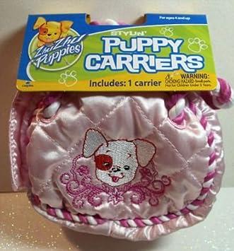 Zhu Zhu Puppies Carrier - Pink Braided
