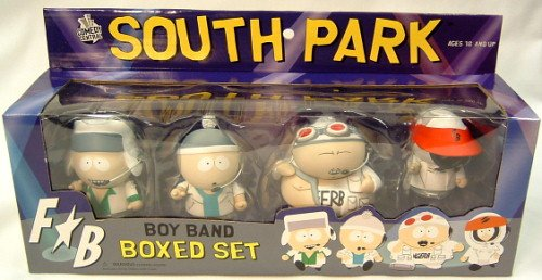 Picture of Mezco South Park Fingerbang Deluxe Figure Box Set Case Of 6 (B001ENJY7C) (Mezco Action Figures)