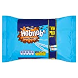 Mcvitie's Milk Chocolate Hob Nobs Twin 2 per pack