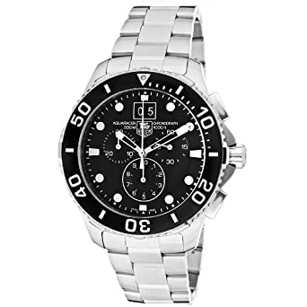 Tag Heuer Aquaracer Mens Chronograph Watch CAN1010.BA0821