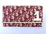[クリスチャン・ディオール] Christian Dior 長財布 トロッター キャンバス×レザー X12656 中古