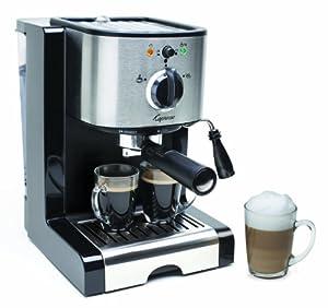 Capresso EC100 Semi Automatic Pump Espresso and Cappuccino Machine - Refurbished by Capresso