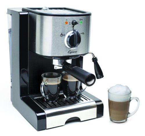 Capresso EC100 Semi Automatic Pump Espresso and Cappuccino Machine - Refurbished
