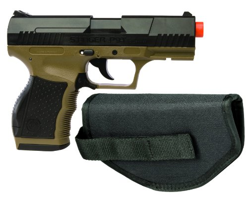 Crosman Stinger P9T Camo AirSoft Pistol with Holster