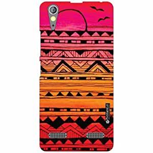 Lenovo A6000 Back Cover - Silicon Mixed Colors Designer Cases