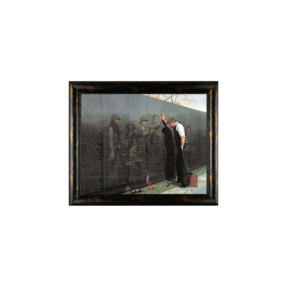 Reflections Lee Teter Military Vietnam Veterans Framed Print Inspirational