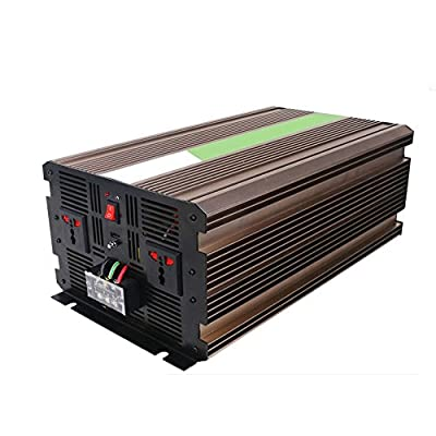Webetop 5000W 24V-to-110V Household Solar Energy Pure Sine Wave Inverter