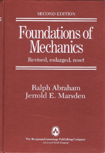 Foundations of Mechanics: Updated 1985 Printing