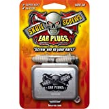 Skull Screws Hi Tech Ear Plugs, 1-Pair