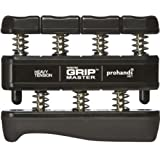 Gripmaster Hand Exerciser Black, Heavy Tension (9-Pounds per Finger) ~ Gripmaster
