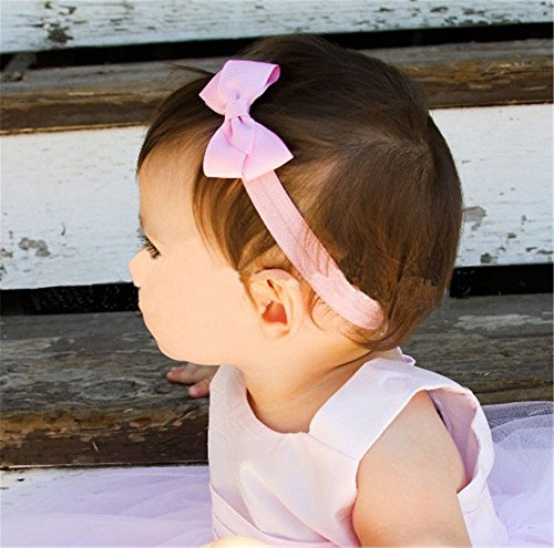 HYS Fashion Lot of 60 Lovely Baby Girl Hairband Color Headbands