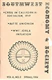 img - for SOUTHWEST ECONOMY & SOCIETY, VOL. 6, NO. 3, SPRING 1984 book / textbook / text book