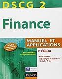 DSCG 2 - Finance - 4e édition - Manuel et applications